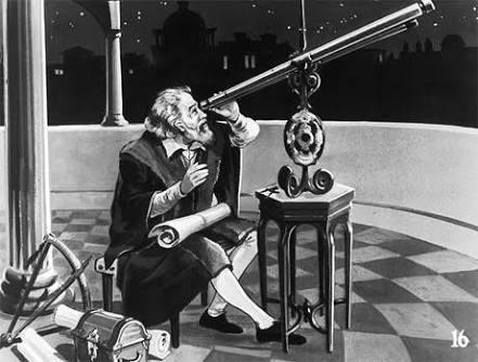 Galileo and telescope