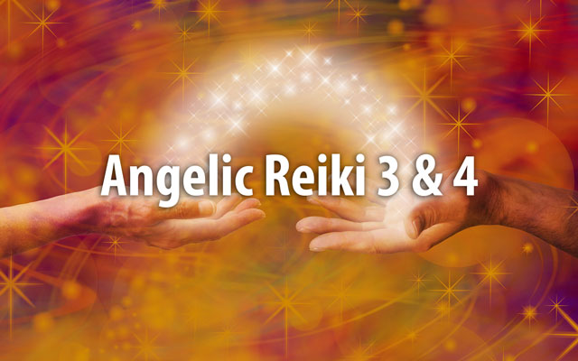 angelic reiki 3 and 4 workshop image